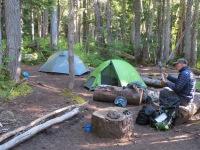 Cataract Valley backcountry camp