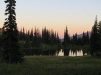First night's sunset