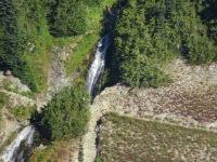 Waterfall in Cispus Basin