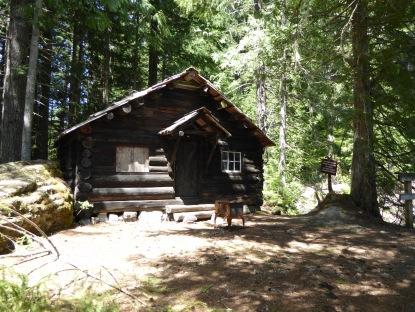 1910 ranger cabin being restored