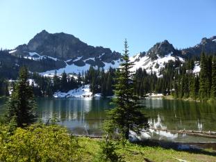 Upper Crystal Lake - beautiful!