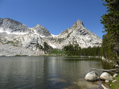 1st Young Lake, Raggedy Peak on the right