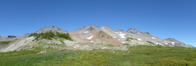 Old Snowy Mt. And Ives Peak
