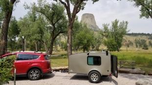 Devils Tower, Belle Fourche Campground
