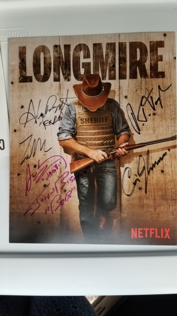 Signed poster