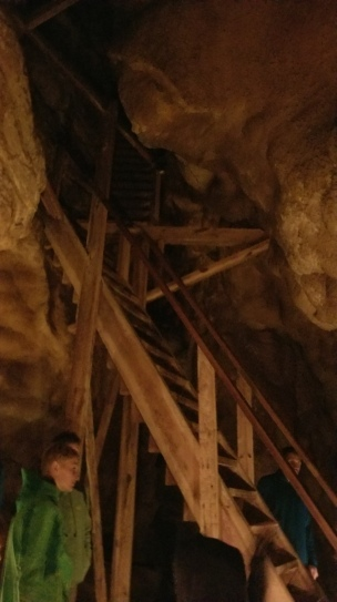 Stairs in Jewel Cave
