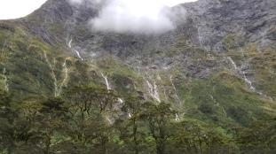Waterfalls near Mintaro Hut