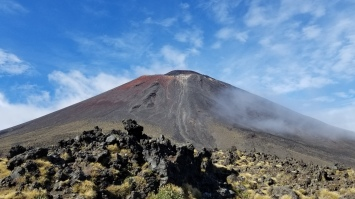 Mt. Ngauruhoe (Mt. Doom), Tongariro Alpine Crossing