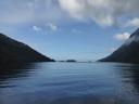 Doubtful Sound NZ, near the opening to the Tasman Sea