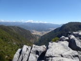 From Harwood's Hole looing down to the Takaka valley