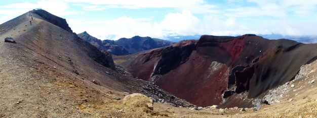 Red Crater, Tongariro Alpine Crossing