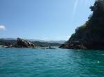 Kayaking around Kaiteriteri